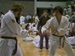 Ken Gullette sparring 1980
