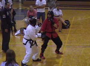 Ken Gullette tournament sparring