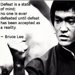 Bruce Lee Defeat