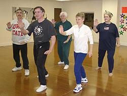 Tai Chi Class 2002