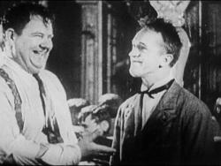 Laurel-Hardy Handshake