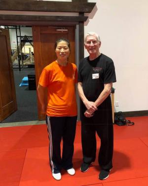 Chen Huixian and Ken Gullette