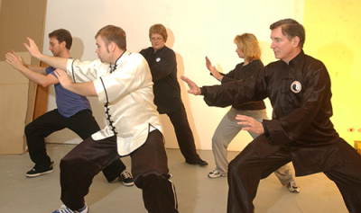 tai chi class with ken gullette